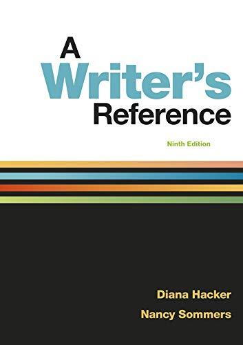 A Writer S Reference Ninth Edition PDF Version