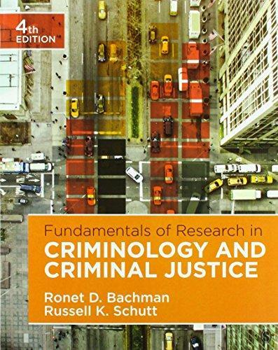 Fundamentals of Research in Criminology and Criminal Justice Fourth Edition  - Ebook PDF Version
