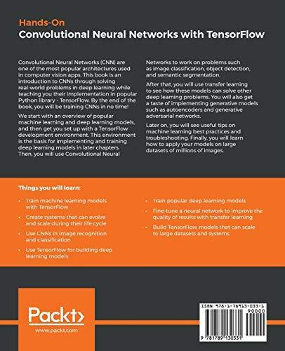 Hands-On Convolutional Neural Networks with TensorFlow: Solve computer    -  PDF Version