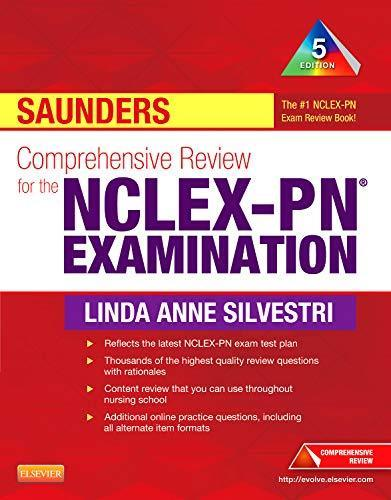 Saunders Comprehensive Review for the NCLEX-PN® Examination (Saunders - PDF  Version