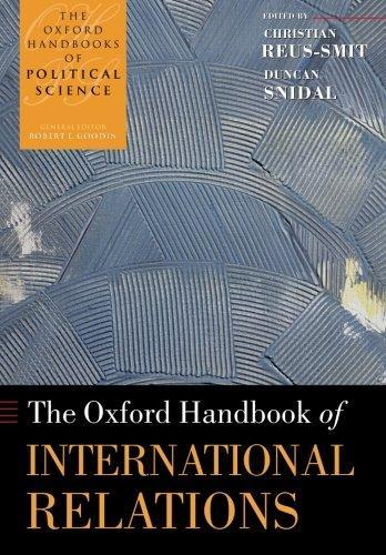 The Oxford Handbook of International Relations (The Handbooks Political -  PDF Version